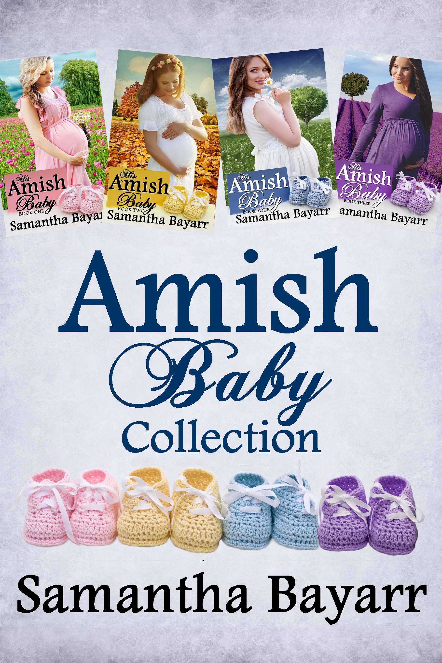 000 Amish Baby Collection 6X9